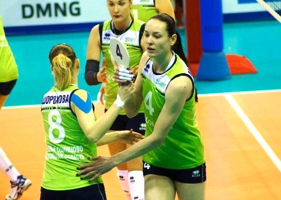 «Заречье – Одинцово» выиграло первый матч 1/8 финала Кубка Вызова