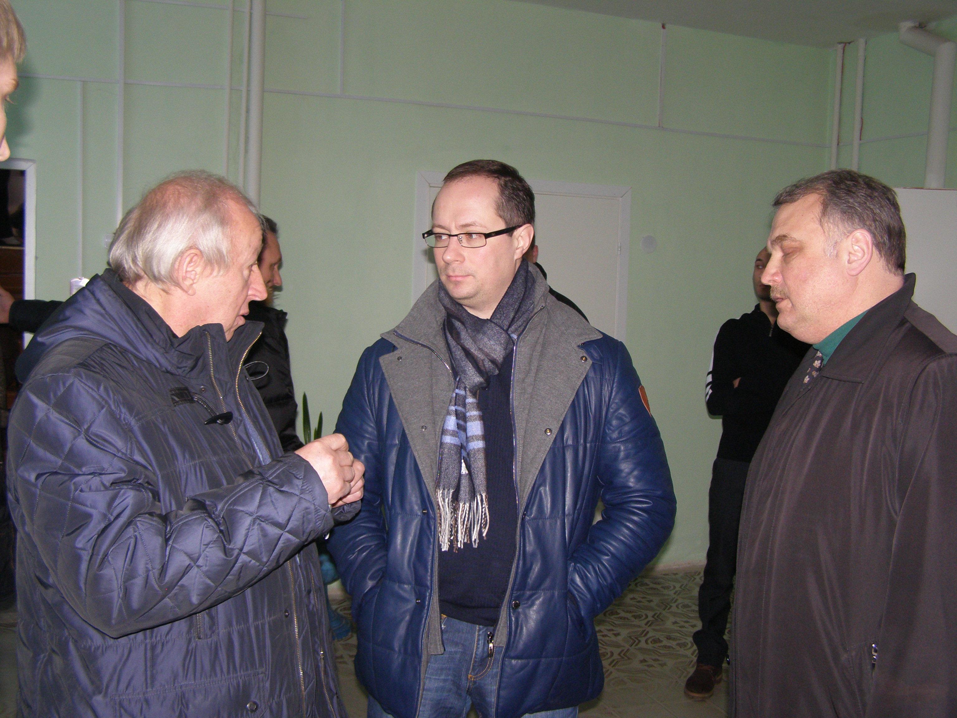 Роман Терюшков: «В деревне Давыдово откроют отделение районной ДЮСШ и восстановят отделение по хоккею»