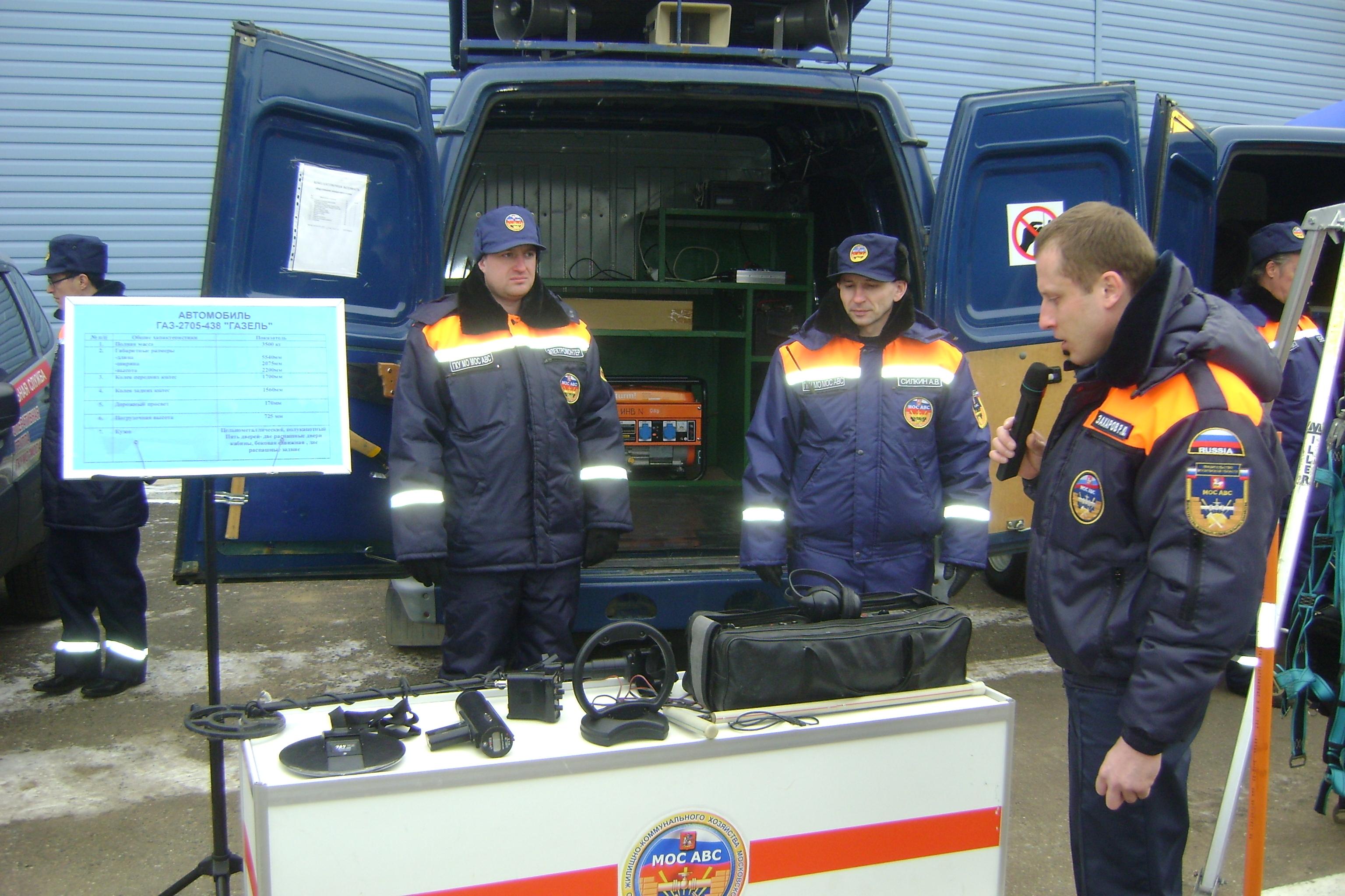 Показная антитеррористическая практическая тренировка на объектах ЖКХ Московской области