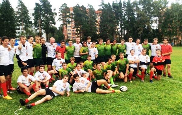 Подмосковные регбисты – вторые на Всероссийских соревнованиях