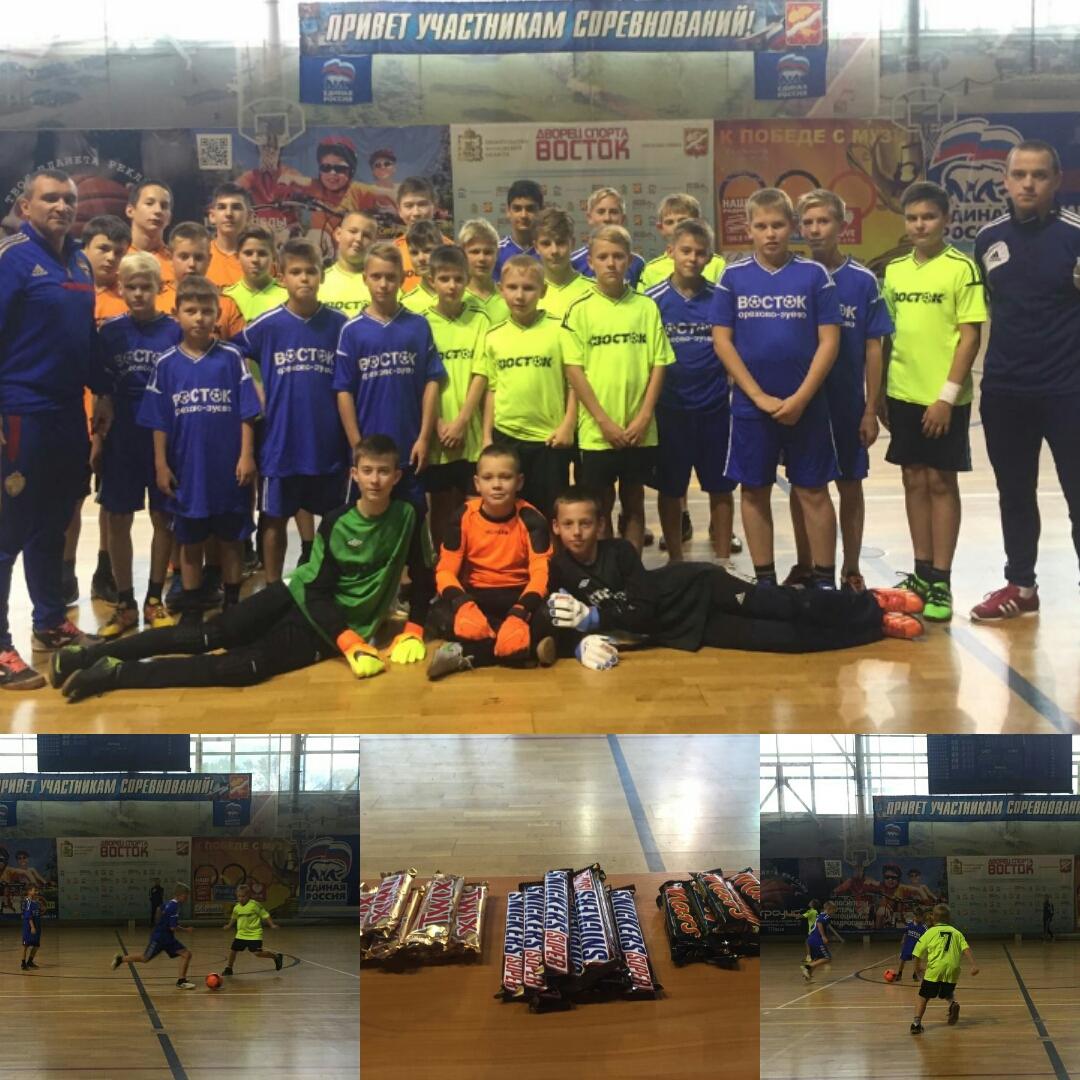 Турнир по мини-футболу и молодежная патриотическая пробежка состоялись в г. Орехово-Зуево в рамках антинаркотического месячника