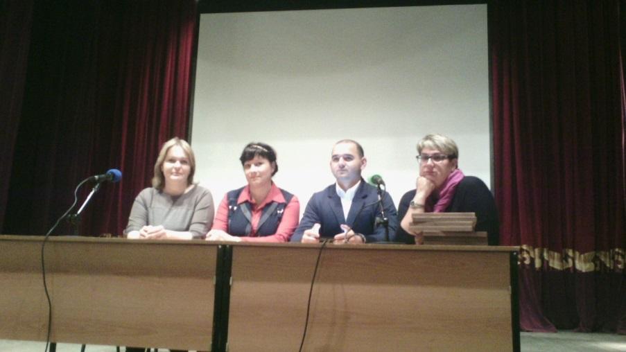 Общее родительское собрание в Истре