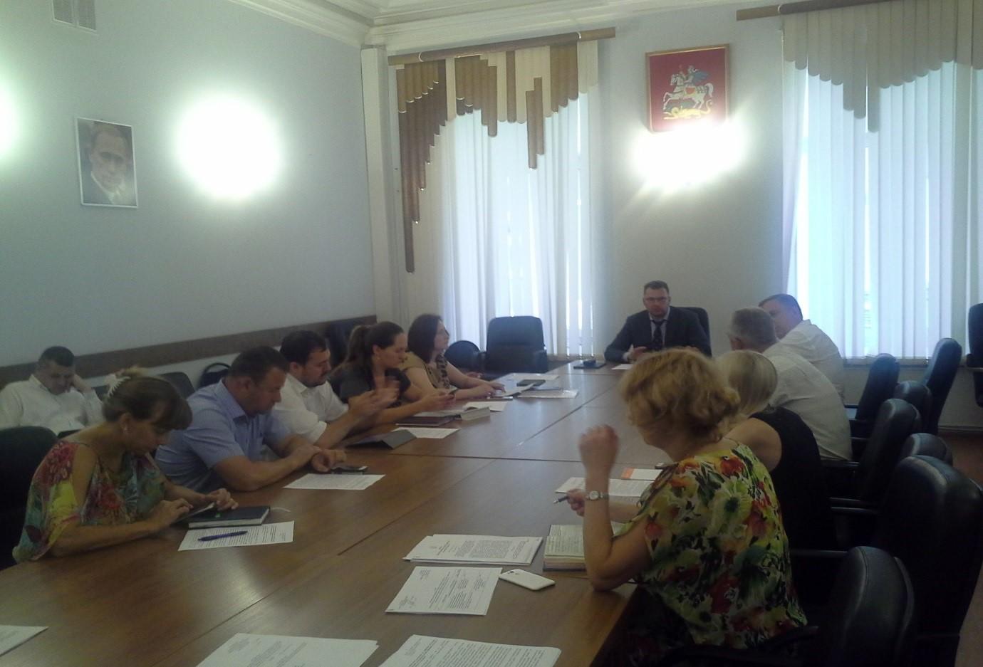 В МинЖКХ Московской области состоялось внеочередное заседание ПДРГ