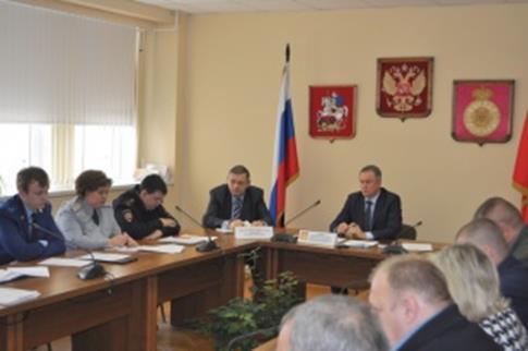 В Воскресенском районе состоялось заседание антинаркотической комиссии