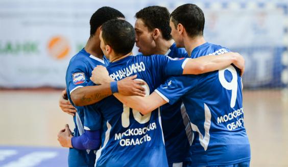 Подмосковное «Динамо» вышло в финал чемпионата России по мини-футболу