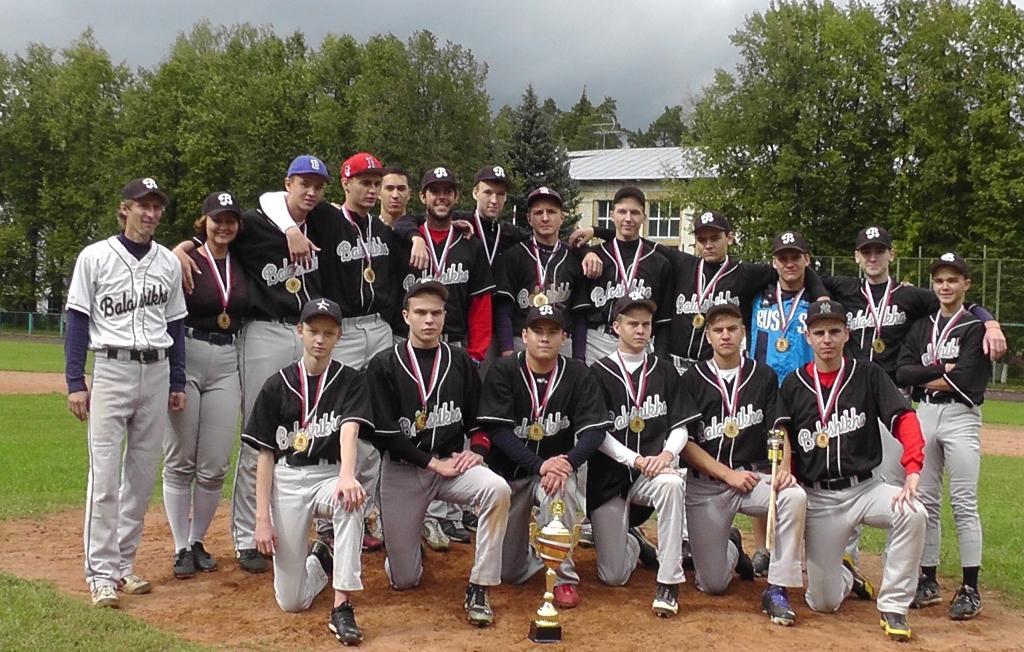 Балашиха – победитель Чемпионата Московской области по бейсболу 2016