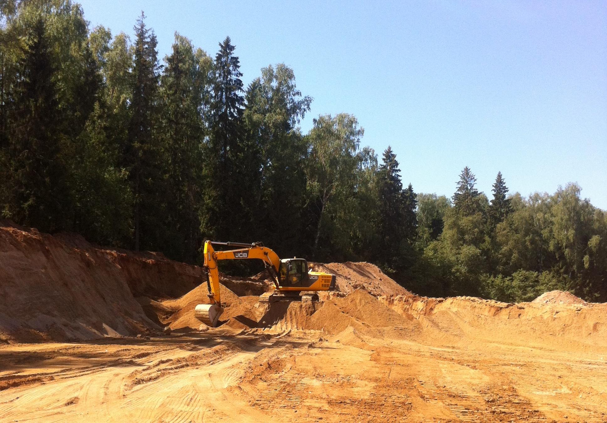 Несоблюдение экологических требований при проведении земляных работ