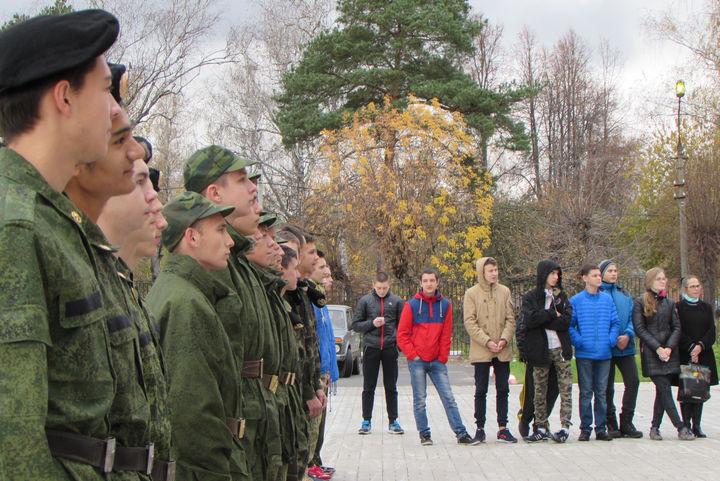 Спартакиада допризывной и призывной молодежи городского округа Электрогорск