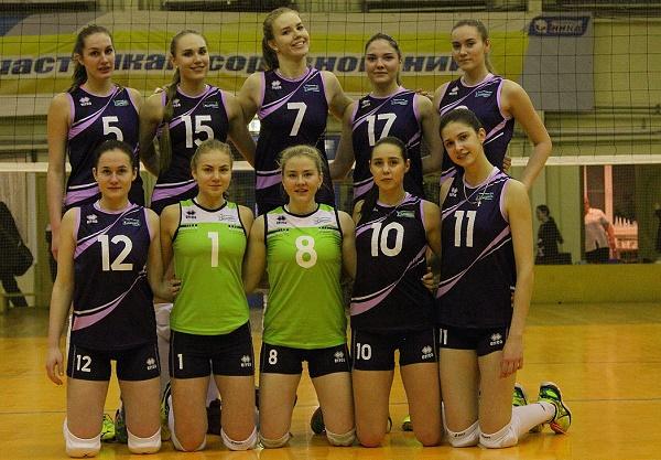 Подмосковные волейболистки на чемпионате России