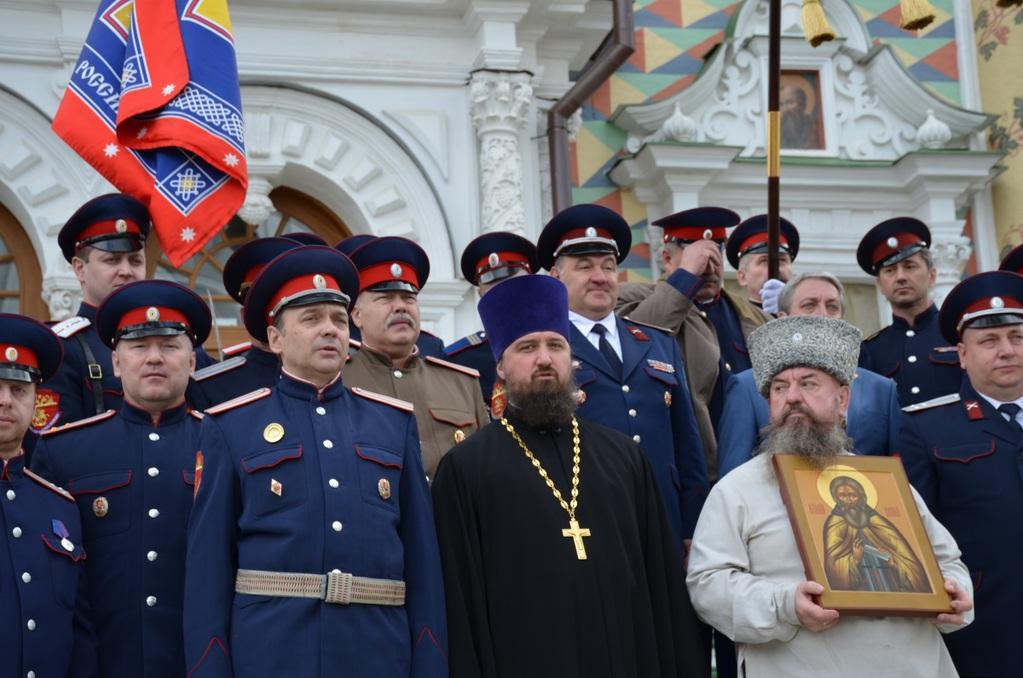 Теперь подмосковных казаков оберегает Сергий Радонежский