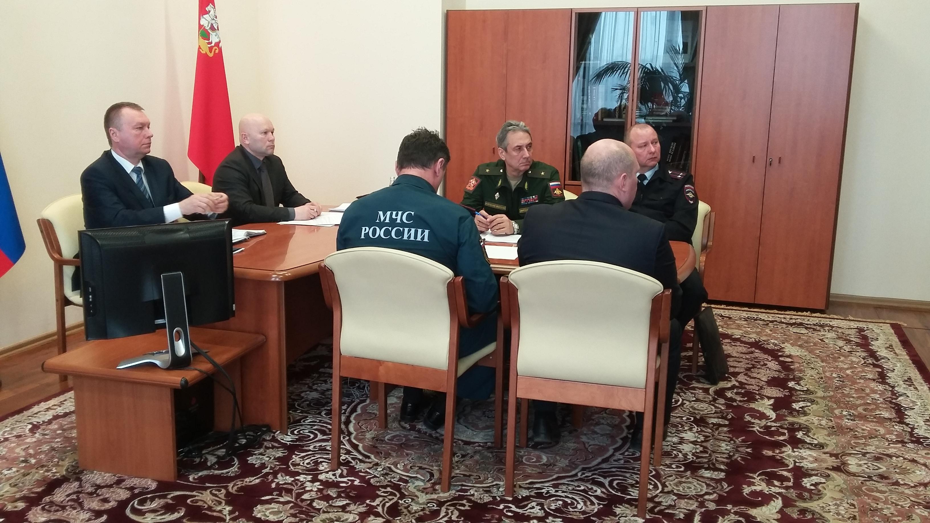 Заседание постоянной окружной комиссии Центрального федерального округа Совета при Президенте Российской Федерации по делам казачества