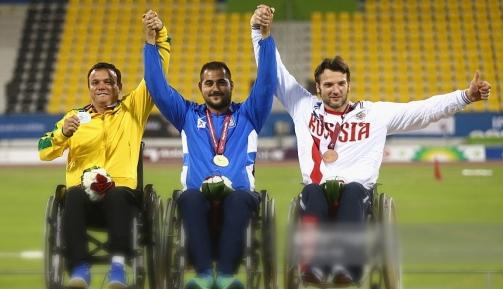 Алексей Кузнецов – призер чемпионата мира по легкой атлетике Международного паралимпийского комитета